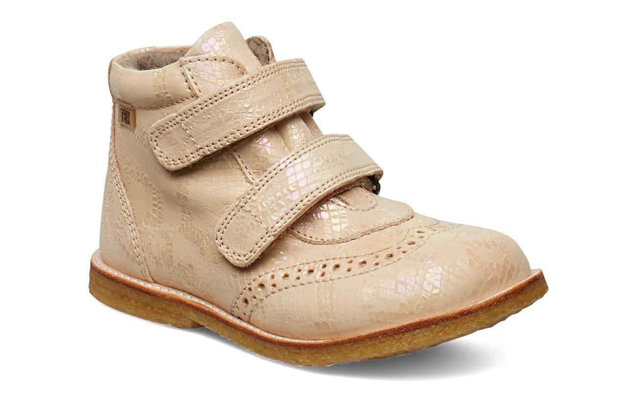 Bisgaard TEX boot - CREME SNAKE