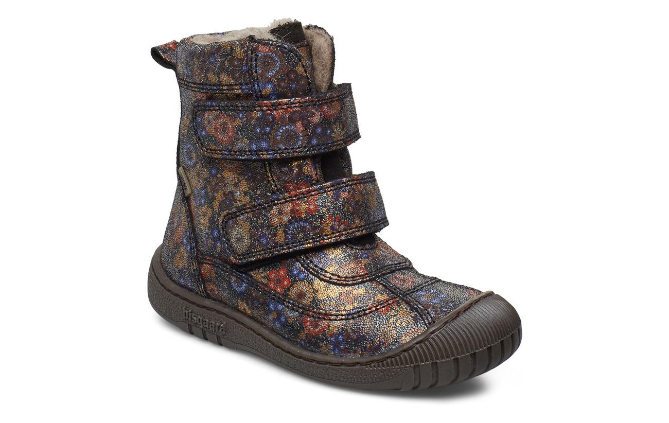Bisgaard TEX boot - NAVY FLOWERS