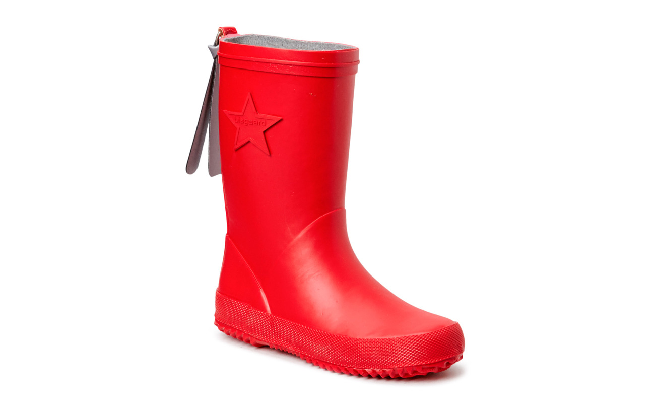 "Bisgaard RUBBER BOOT ""STAR"" - 10 RED"