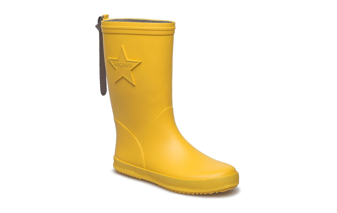 "Bisgaard RUBBER BOOT ""STAR"" - YELLOW"
