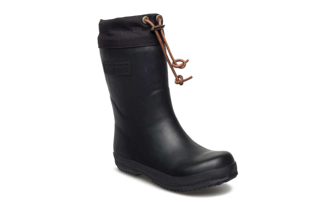 """Bisgaard RUBBER BOOT - """"WINTER THERMO"""" - 50 BLACK"""