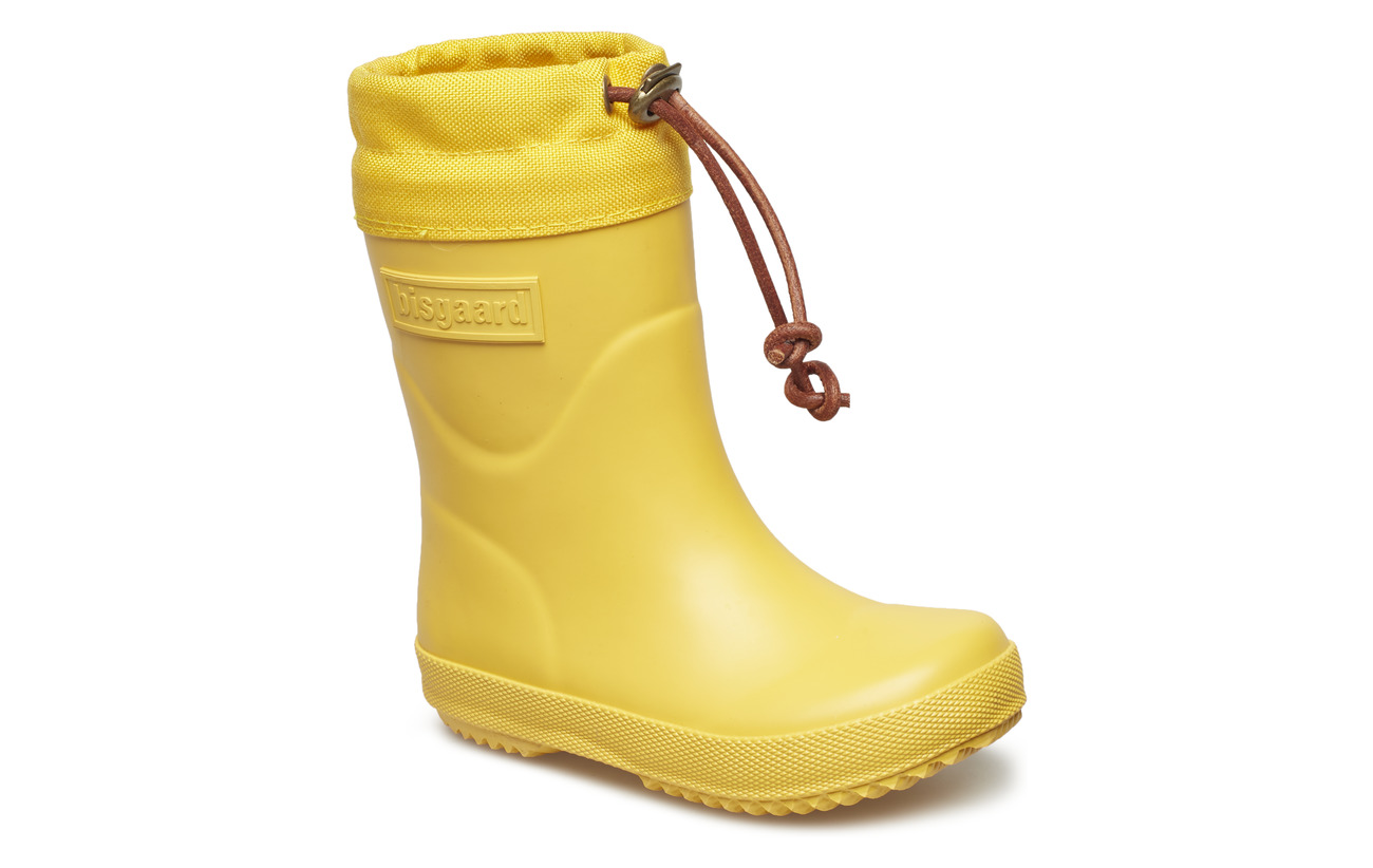 "Bisgaard RUBBER BOOT - ""WINTER THERMO"" - YELLOW"