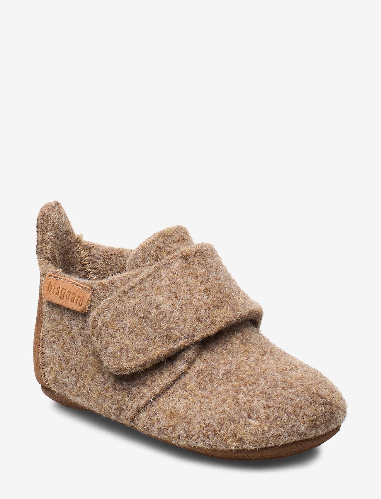 Bisgaard - Prewalker - hausschuhe - camel - 0