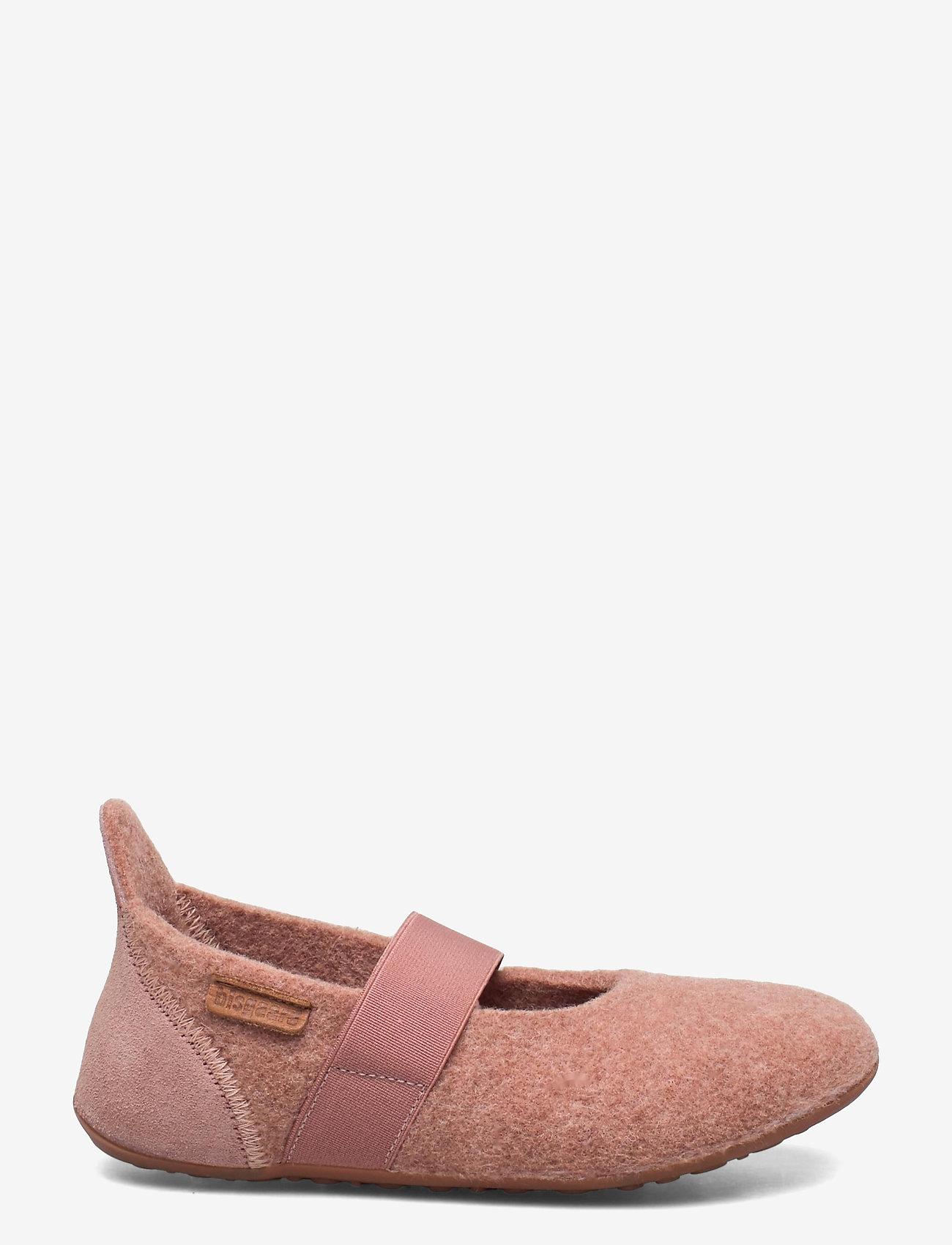 Bisgaard - bisgaard ballet wool - ballerinaer og slip-ons - rose - 0