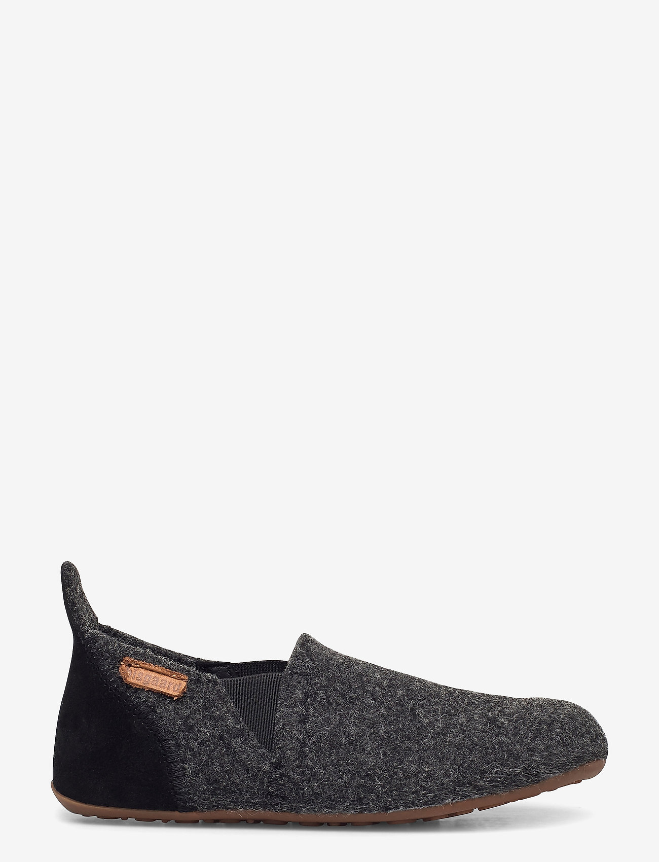"Bisgaard - HOME SHOE - ""WOOL SAILOR"" - hausschuhe - antrachite - 1"