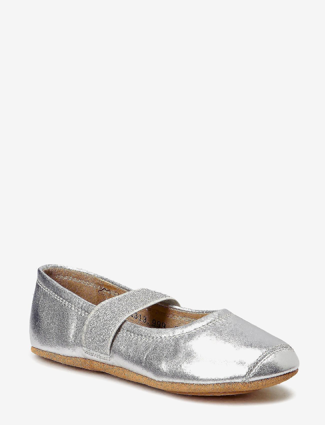 Bisgaard - SLIPPERS BALLET - sko - 01 silver - 0