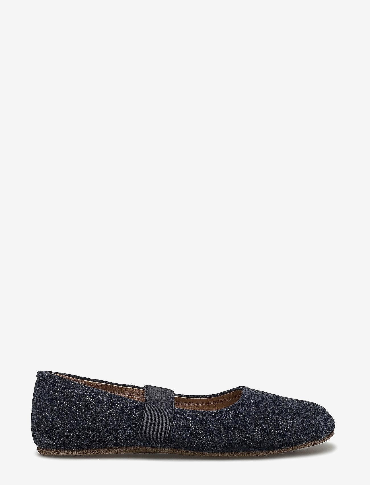 Bisgaard - SLIPPERS BALLET - sko - glitter-blue - 1