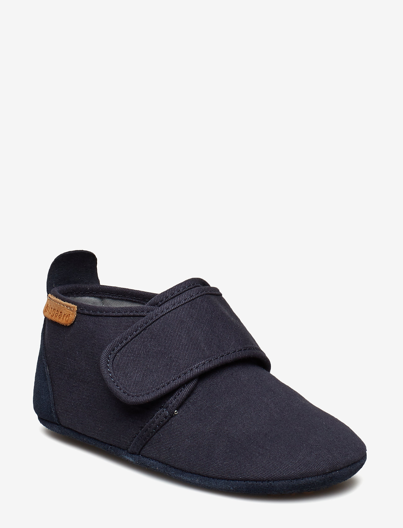 Bisgaard - Cotton Velcro - sko - navy - 0