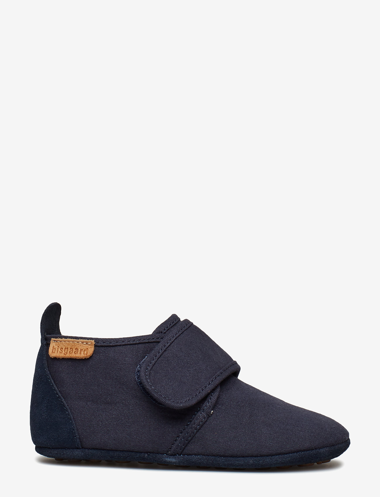 Bisgaard - Cotton Velcro - sko - navy - 1