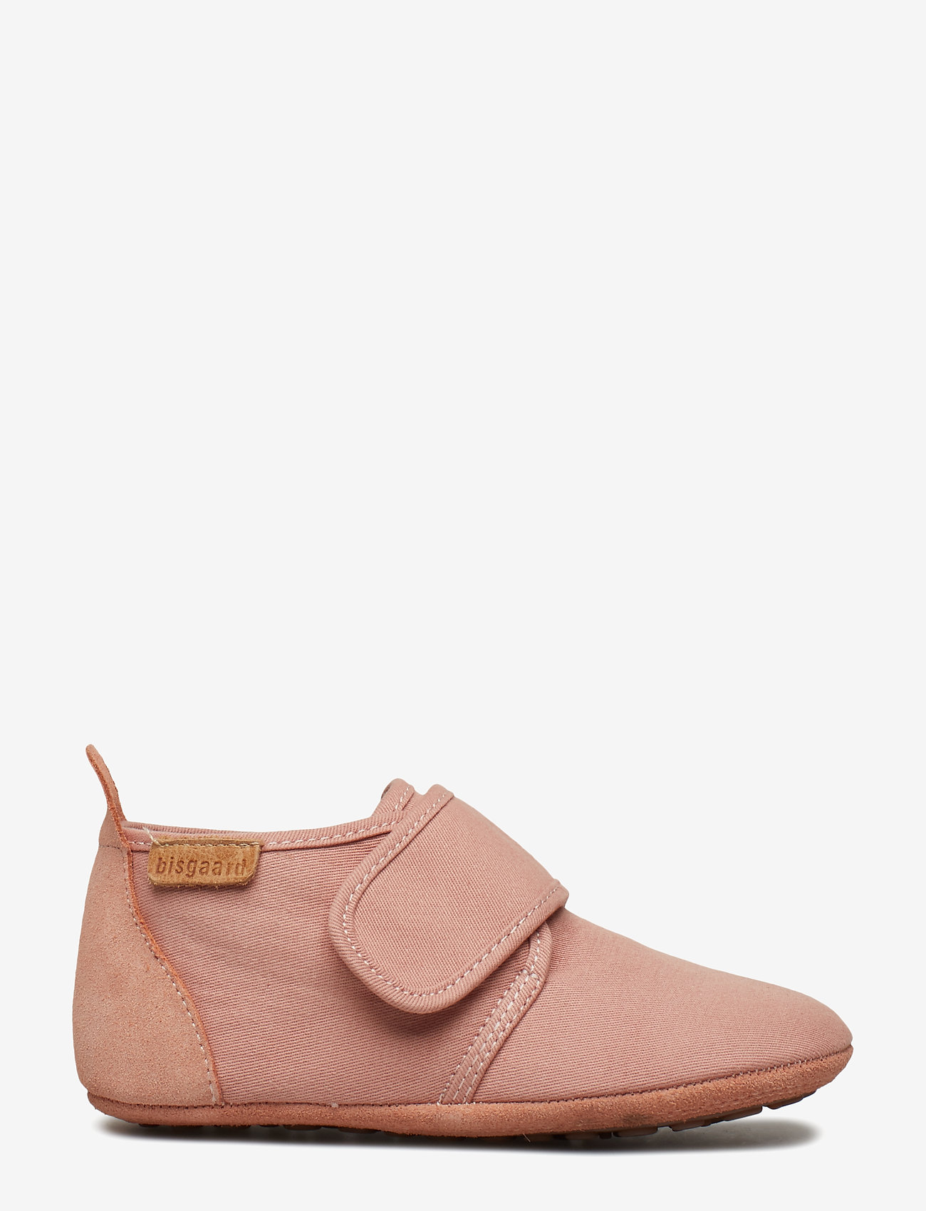 Bisgaard - Cotton Velcro - sko - nude - 1