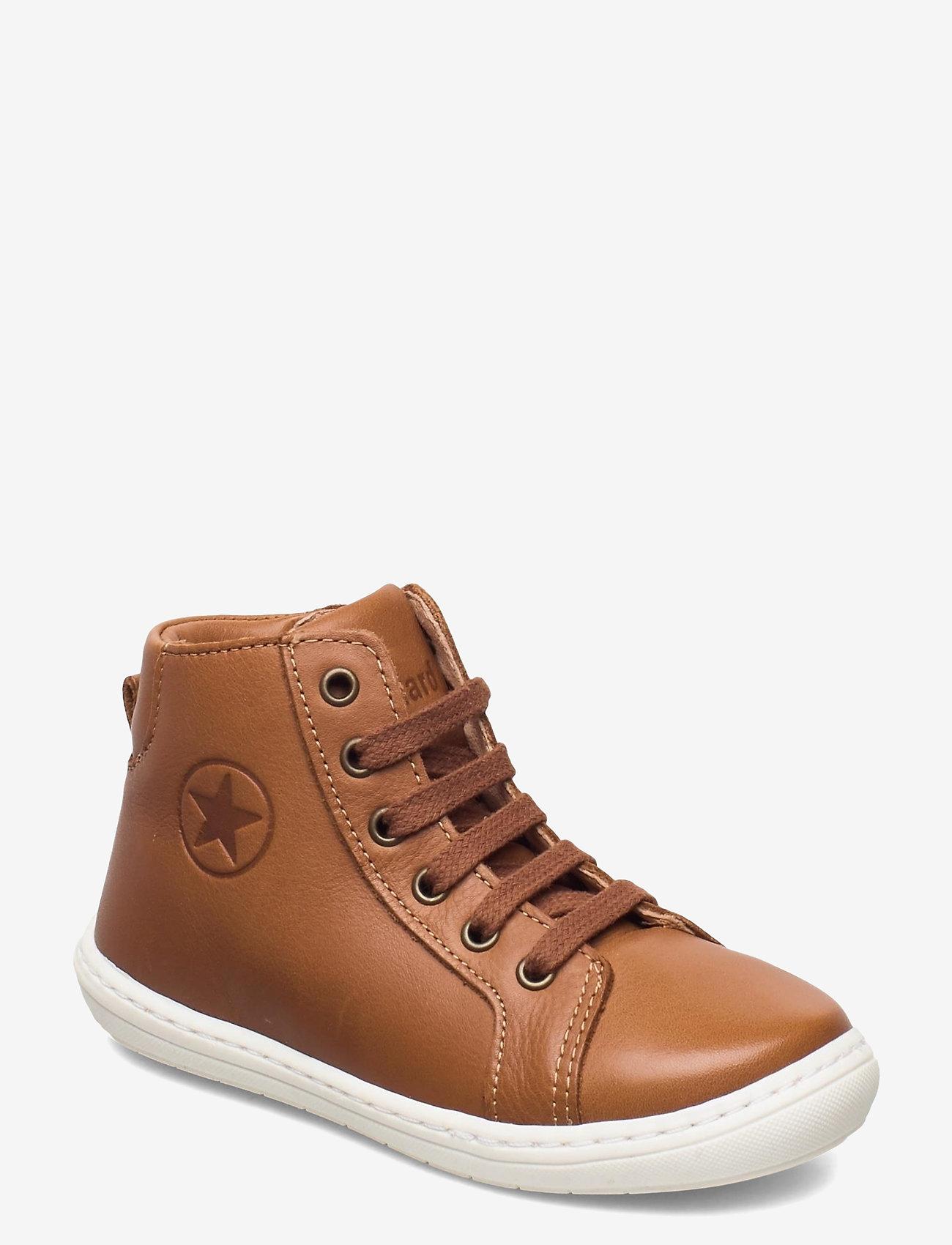 Bisgaard - bisgaard tage - høje sneakers - cognac - 0