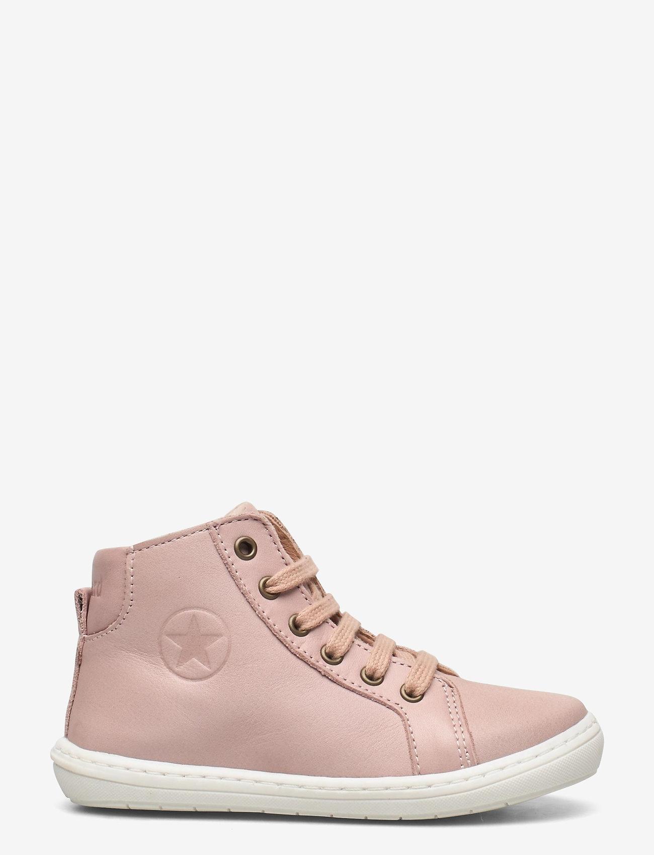 Bisgaard - bisgaard tage - høje sneakers - nude - 1