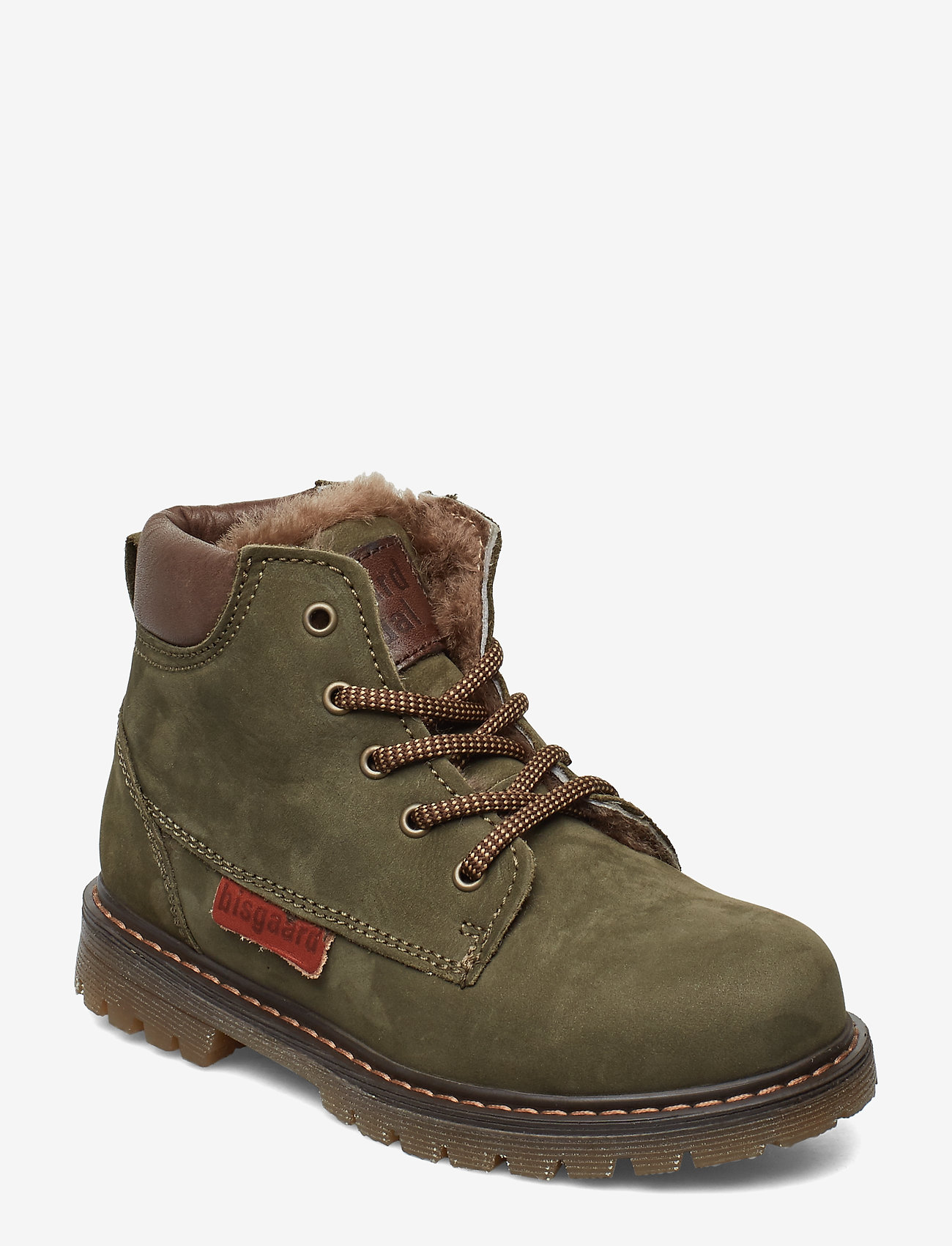Bisgaard - Shoe with lace - stövlar & kängor - army - 0