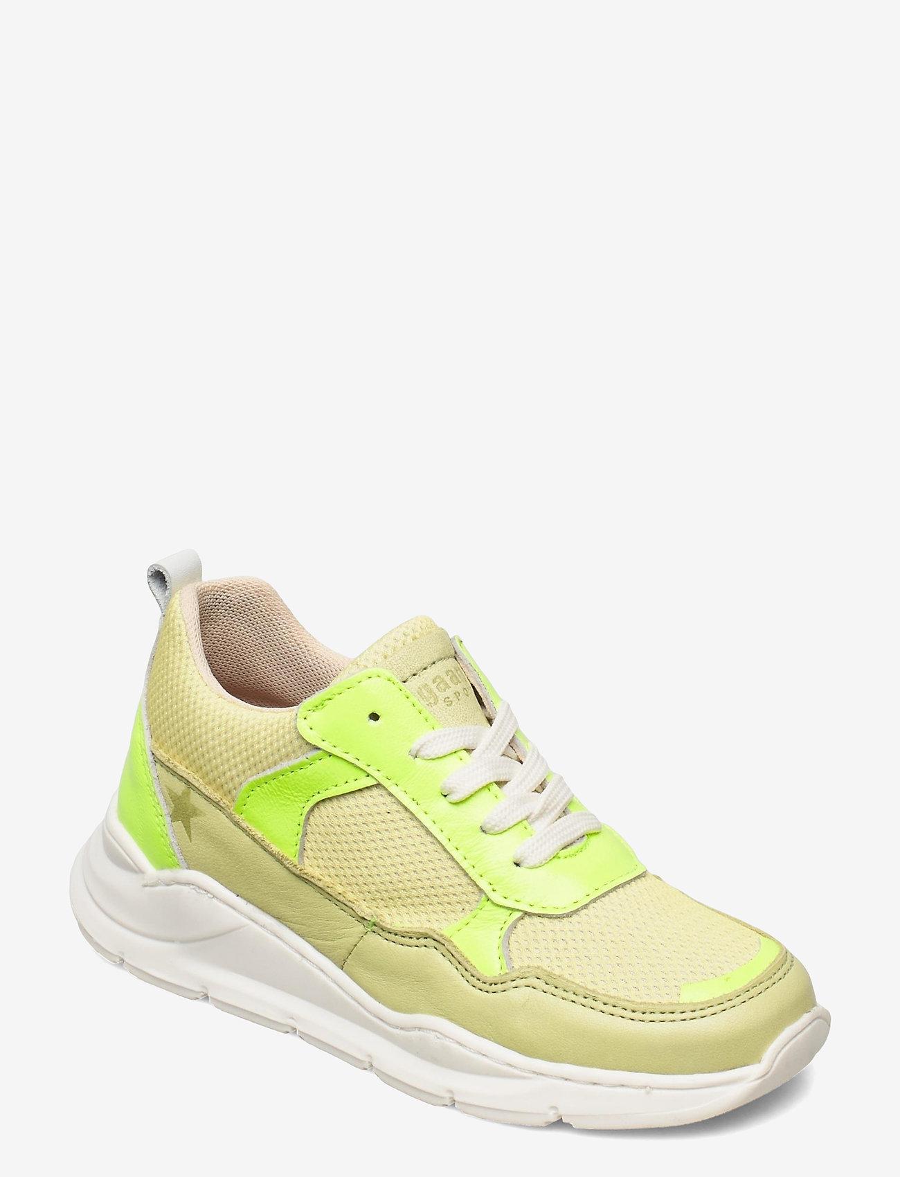 Bisgaard - bisgaard pax - lave sneakers - lemon - 0