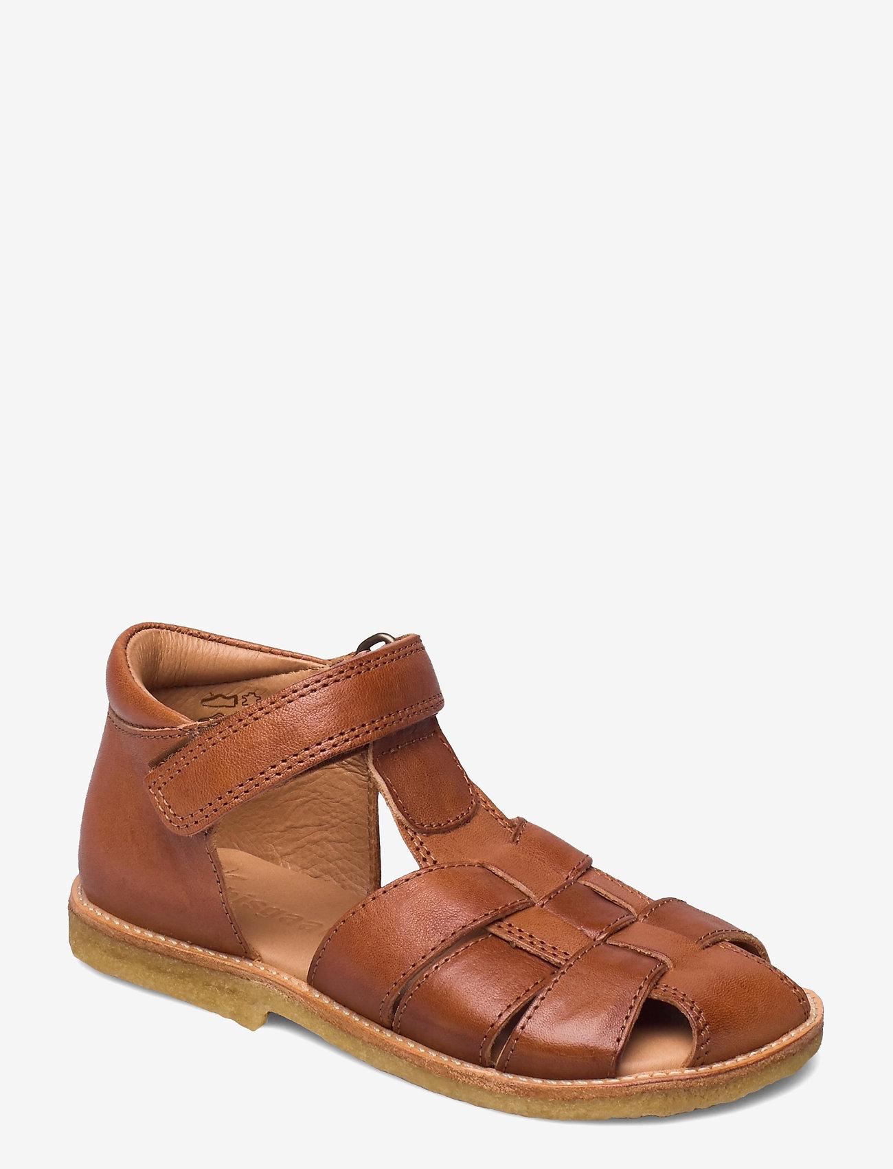 Bisgaard - bisgaard birke - sandalen met riempjes - cognac - 0
