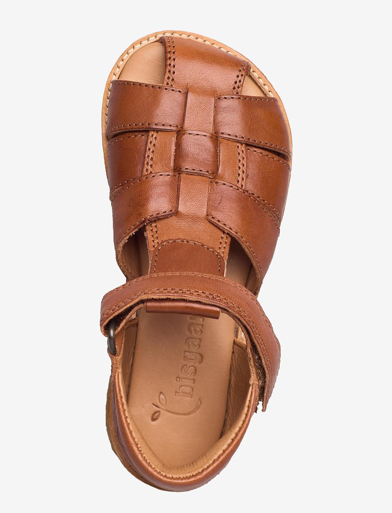 Bisgaard - bisgaard birke - sandalen met riempjes - cognac - 3