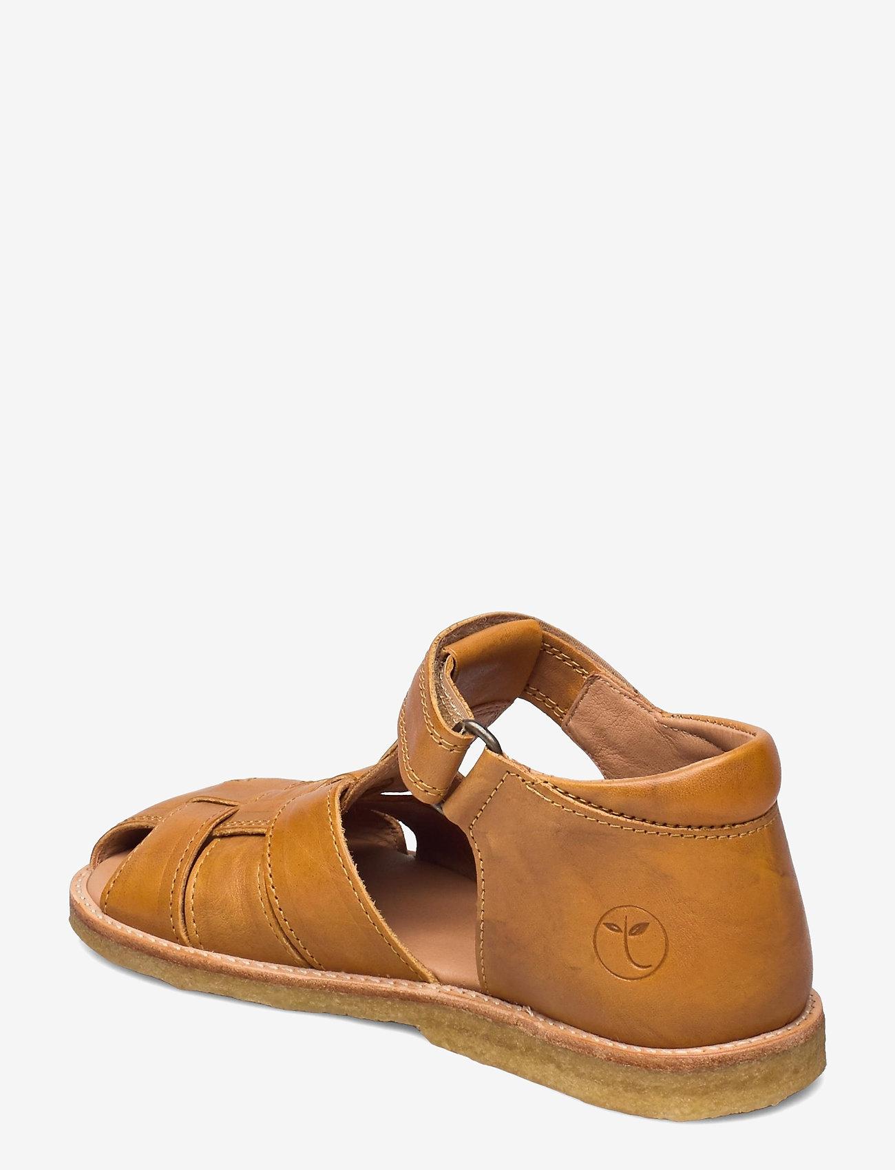 Bisgaard - bisgaard birke - sandalen met riempjes - mustard - 2