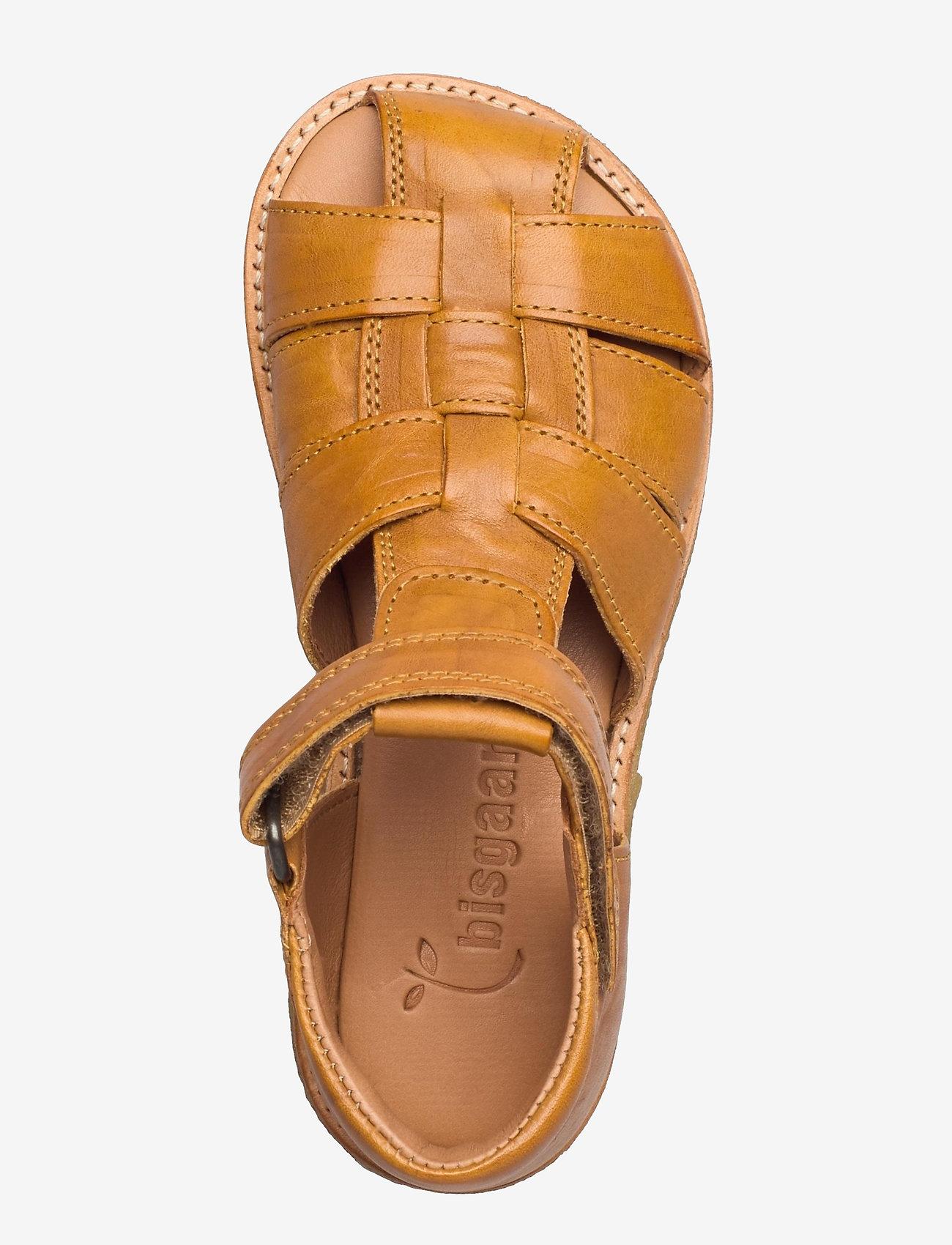 Bisgaard - bisgaard birke - sandalen met riempjes - mustard - 3