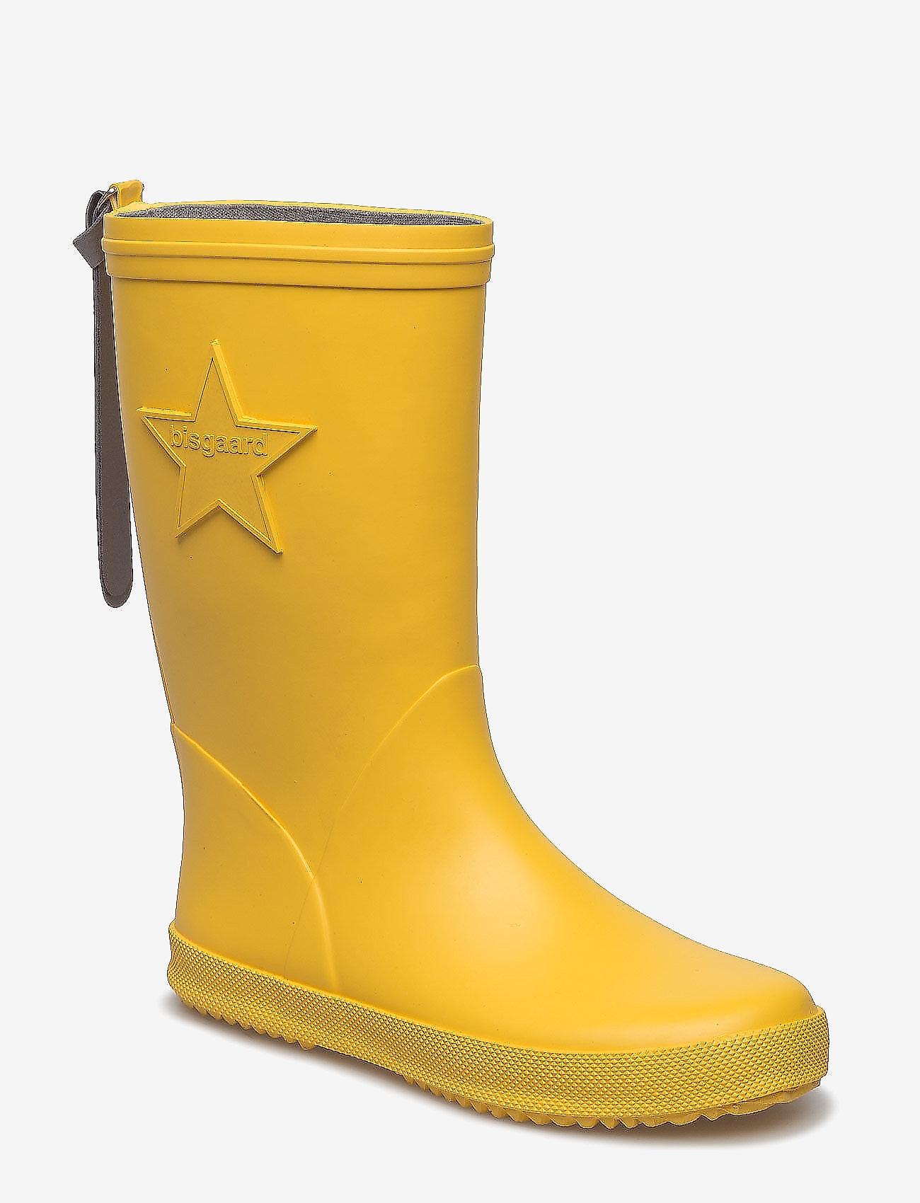 "Bisgaard - RUBBER BOOT ""STAR"" - gummistøvler - yellow - 0"