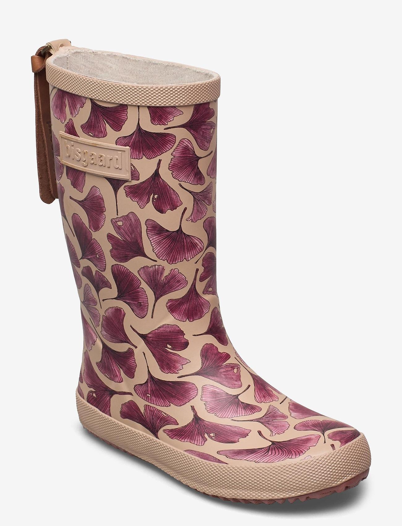 Bisgaard - bisgaard fashion - gummistøvler - bordeaux leaves - 0