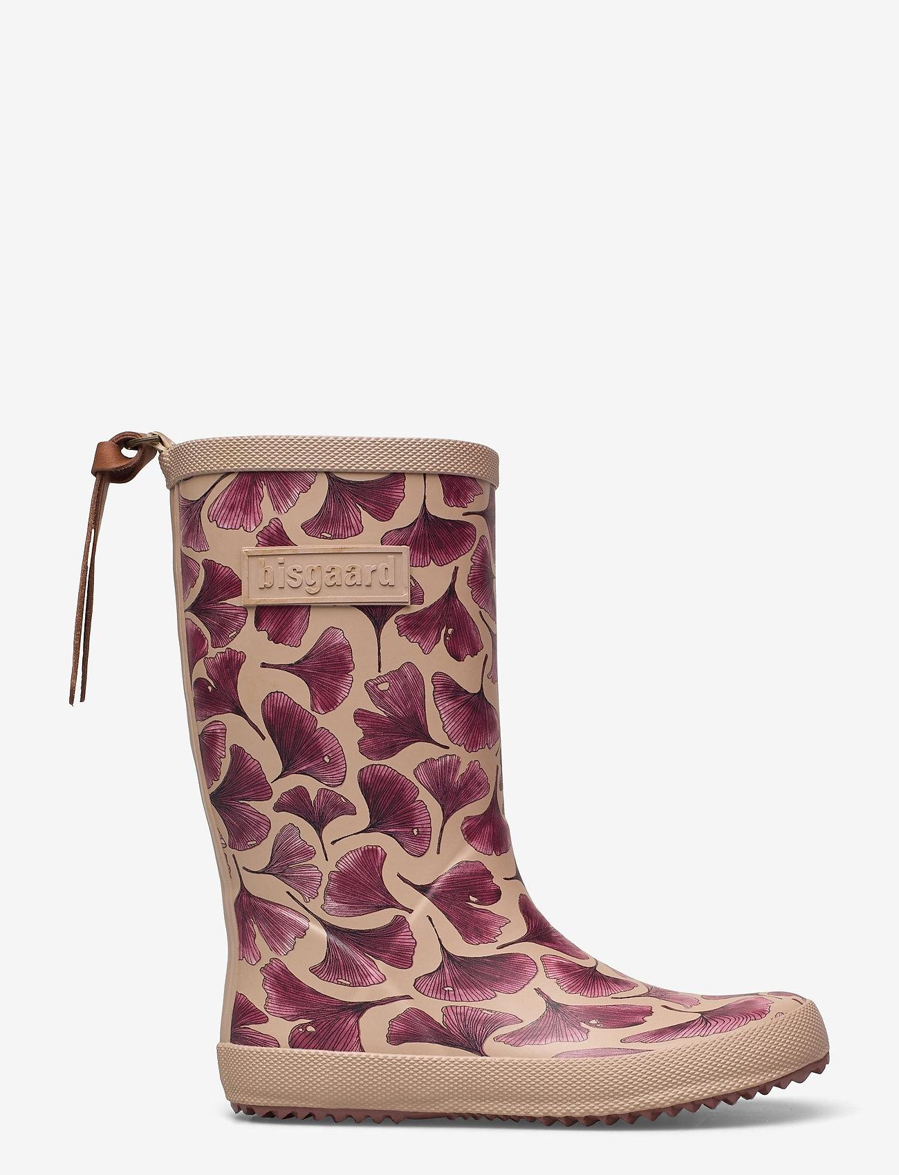 Bisgaard - bisgaard fashion - gummistøvler - bordeaux leaves - 1