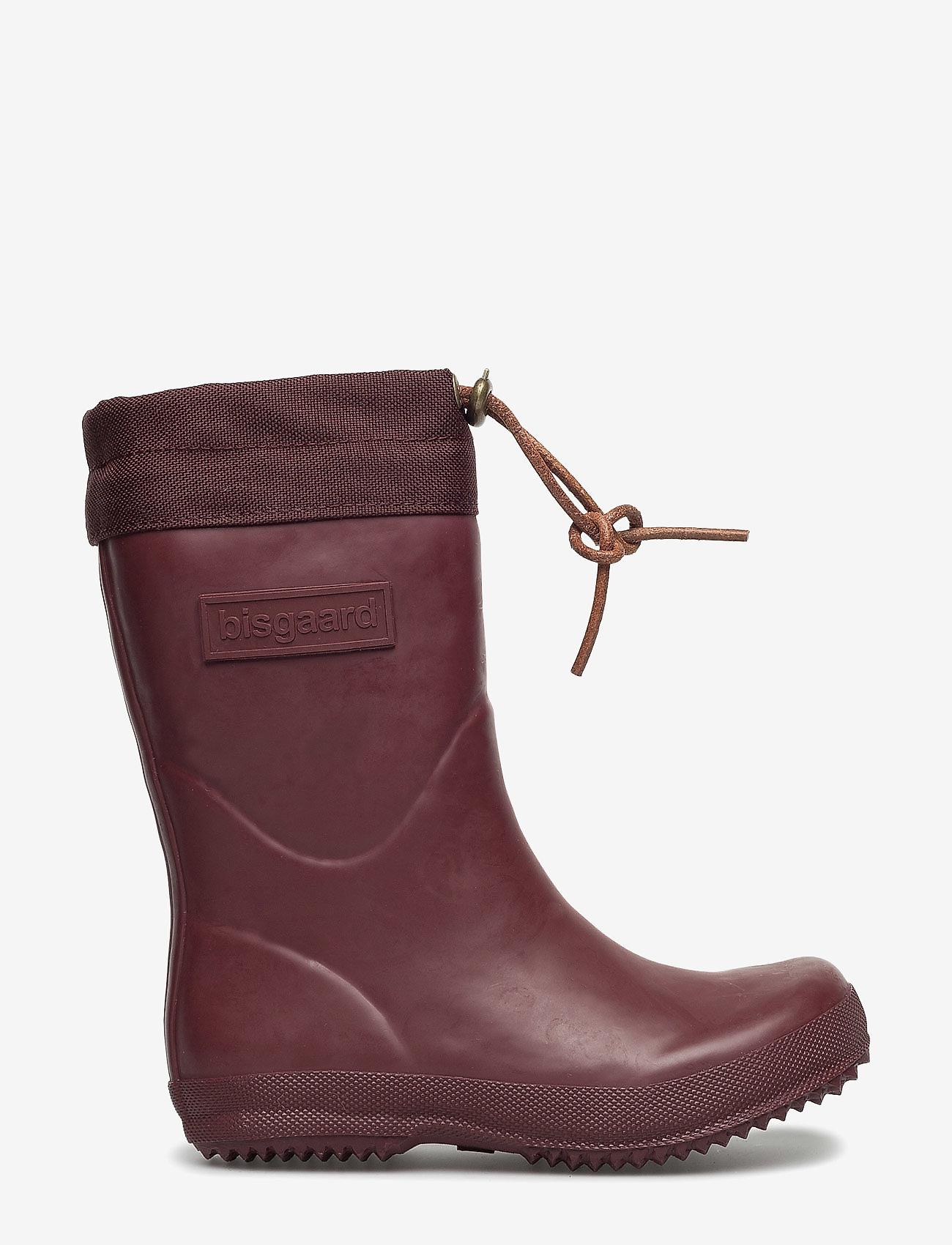 "Bisgaard - RUBBER BOOT - ""WINTER THERMO"" - gummistøvler - 169 bordeaux - 1"