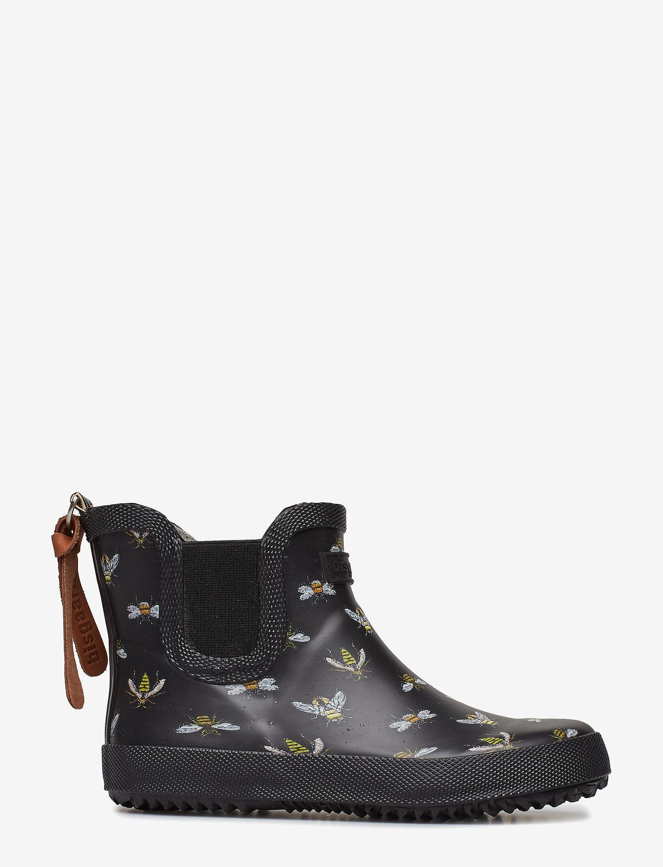 "Bisgaard Rubber Boot ""baby"" - Regnkläder Black Bees"