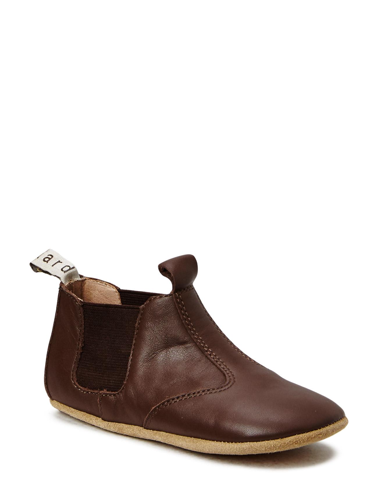 1cb76f41a09 Chelsea Home Shoe Slippers Hjemmesko Brun BISGAARD