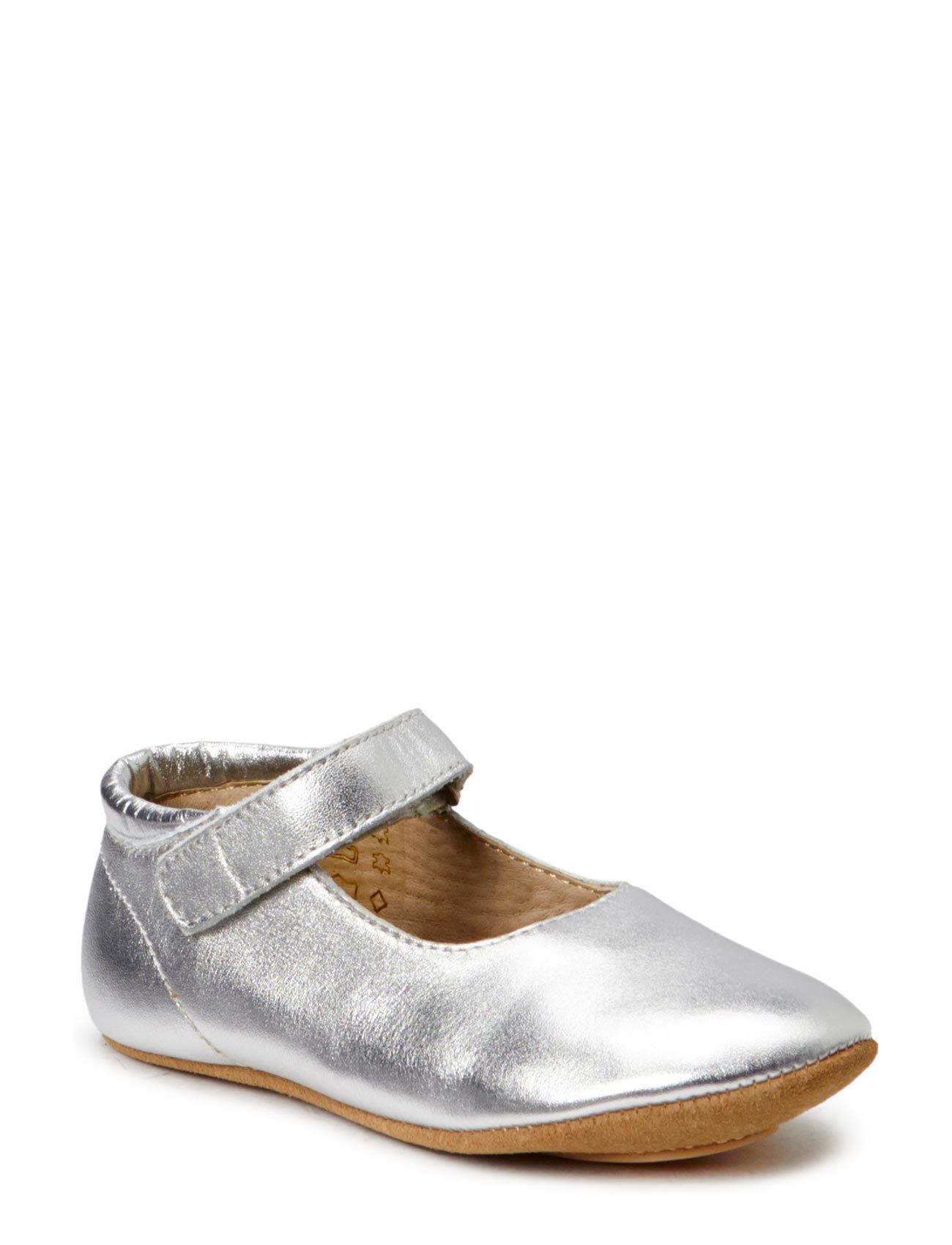e9d7353af6f0 Slippers Ballerina (01 Silver) (174.50 kr) - Bisgaard -
