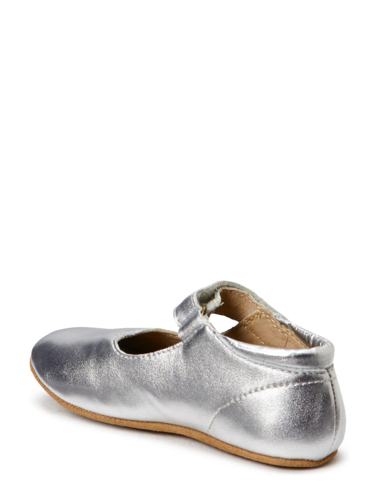 22e0cdefa247 Bisgaard hjemmesko – Slippers Ballerina til børn i 01 SILVER ...