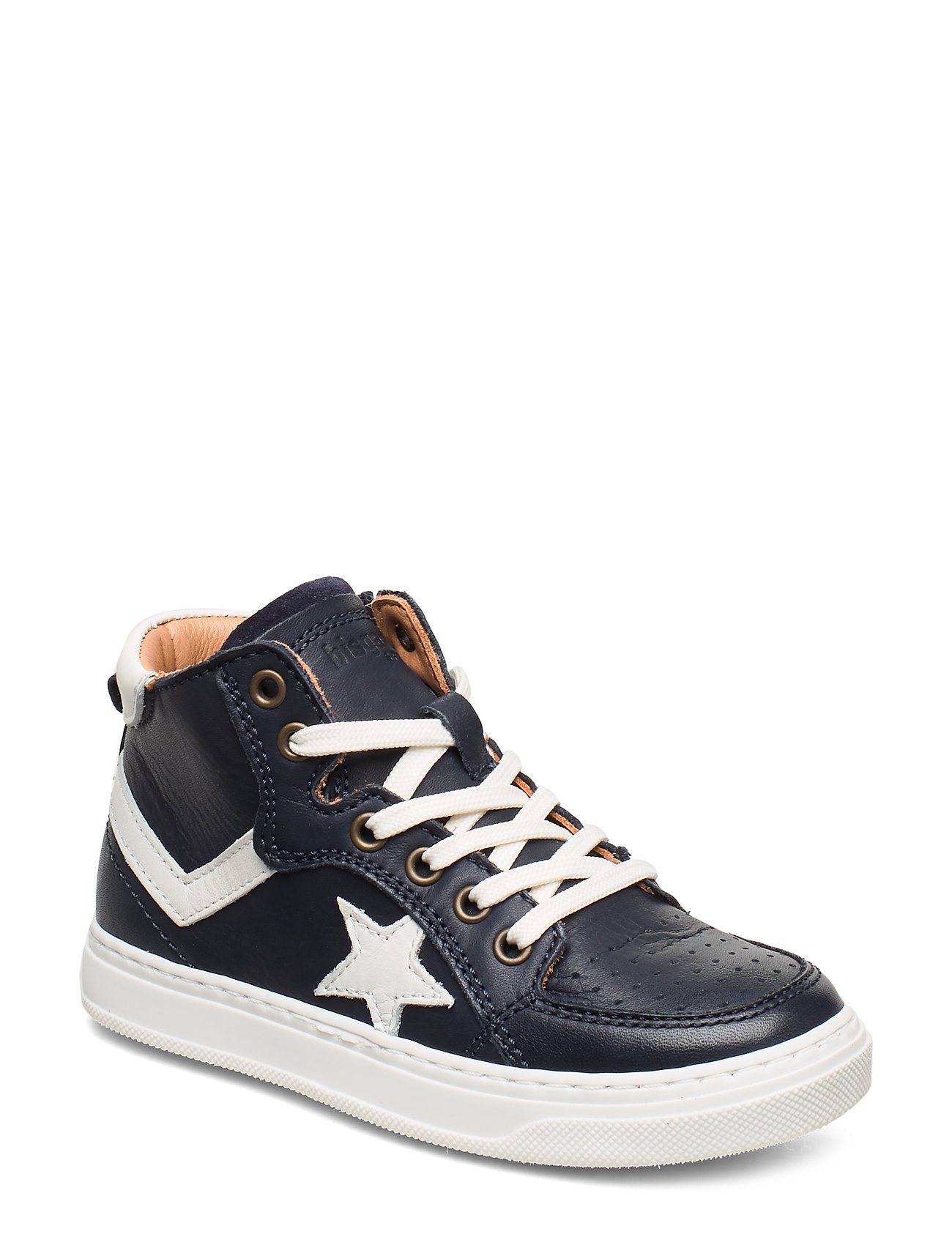 Bisgaard Shoes with laces - NAVY