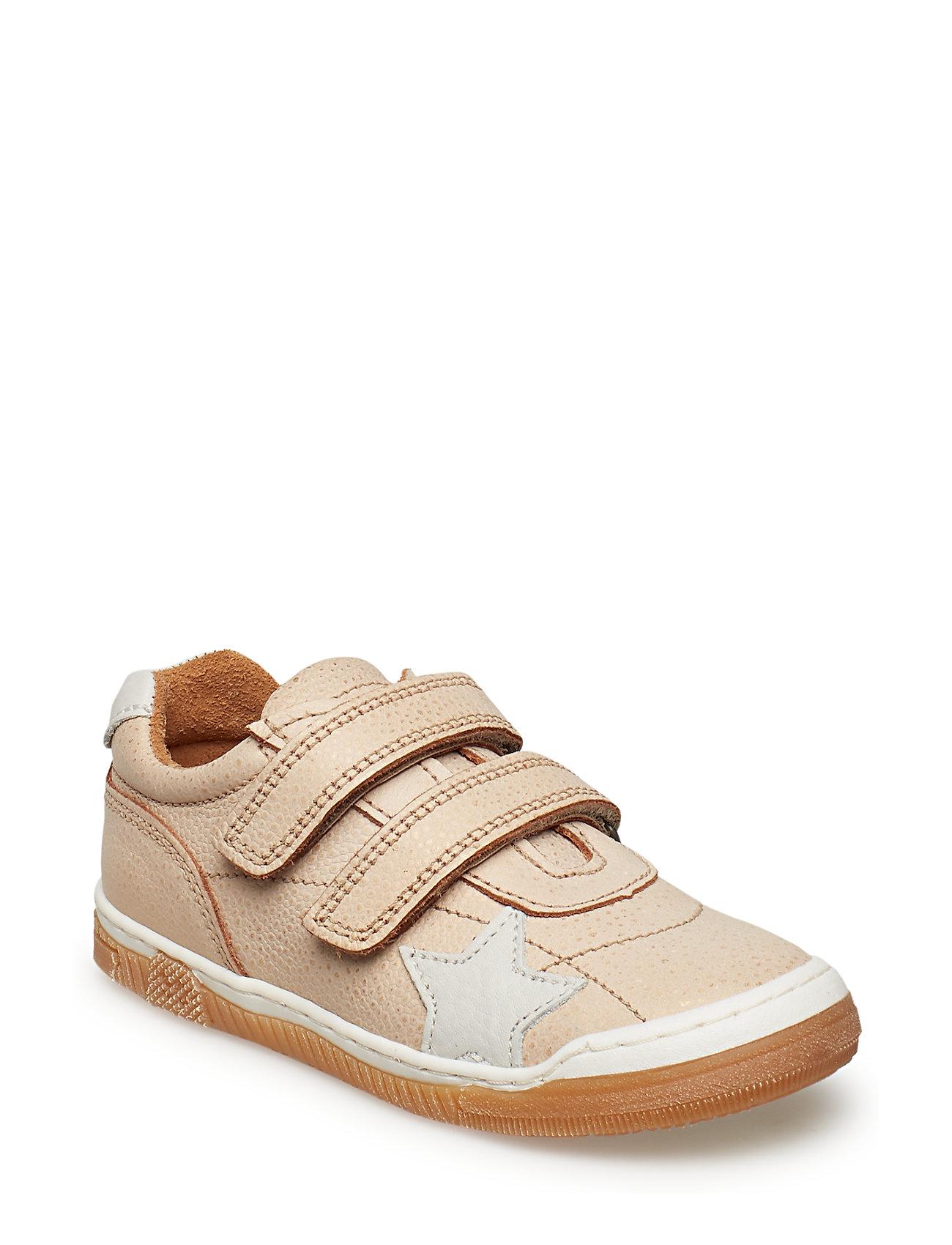 Bisgaard Velcro shoe - GOLD