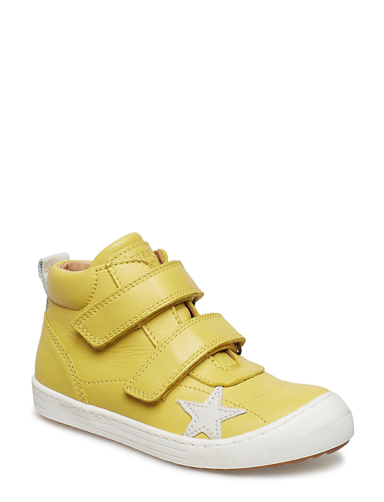 Image of Velcro Shoe Sneakers Sko Gul Bisgaard (3416435153)