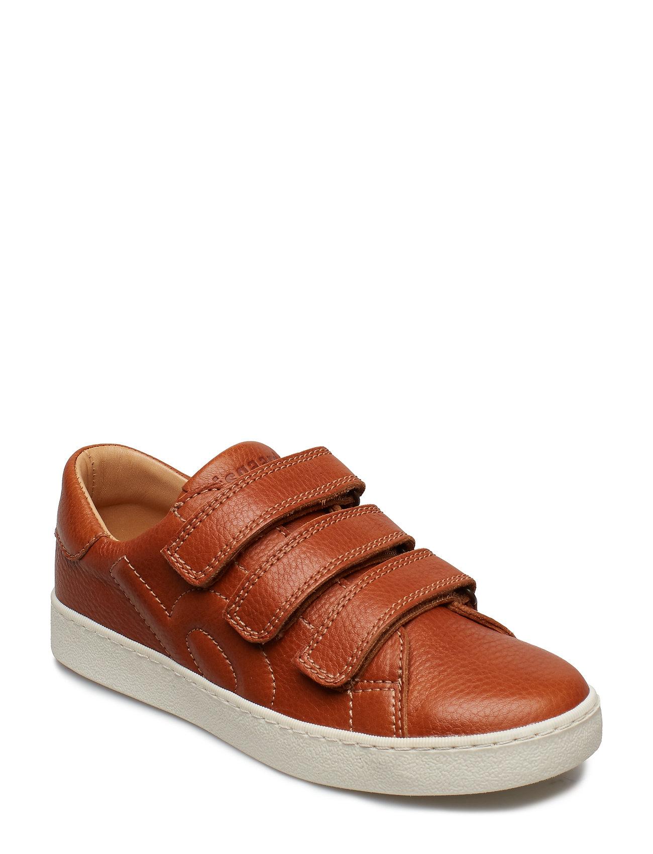 1f50b37bd Velcro Shoe Sneakers Sko Brun BISGAARD