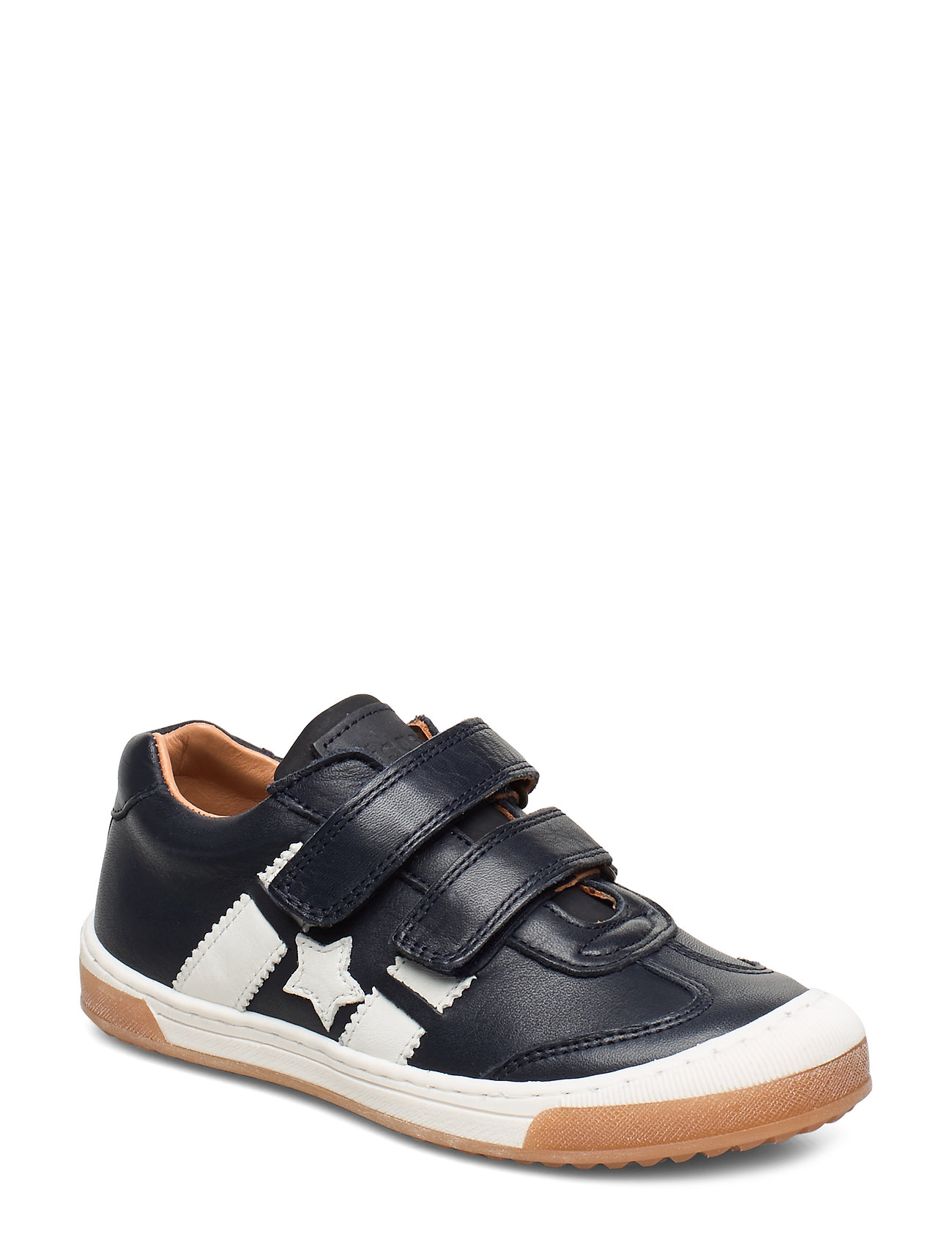 Bisgaard shoes with Velcro - NAVY