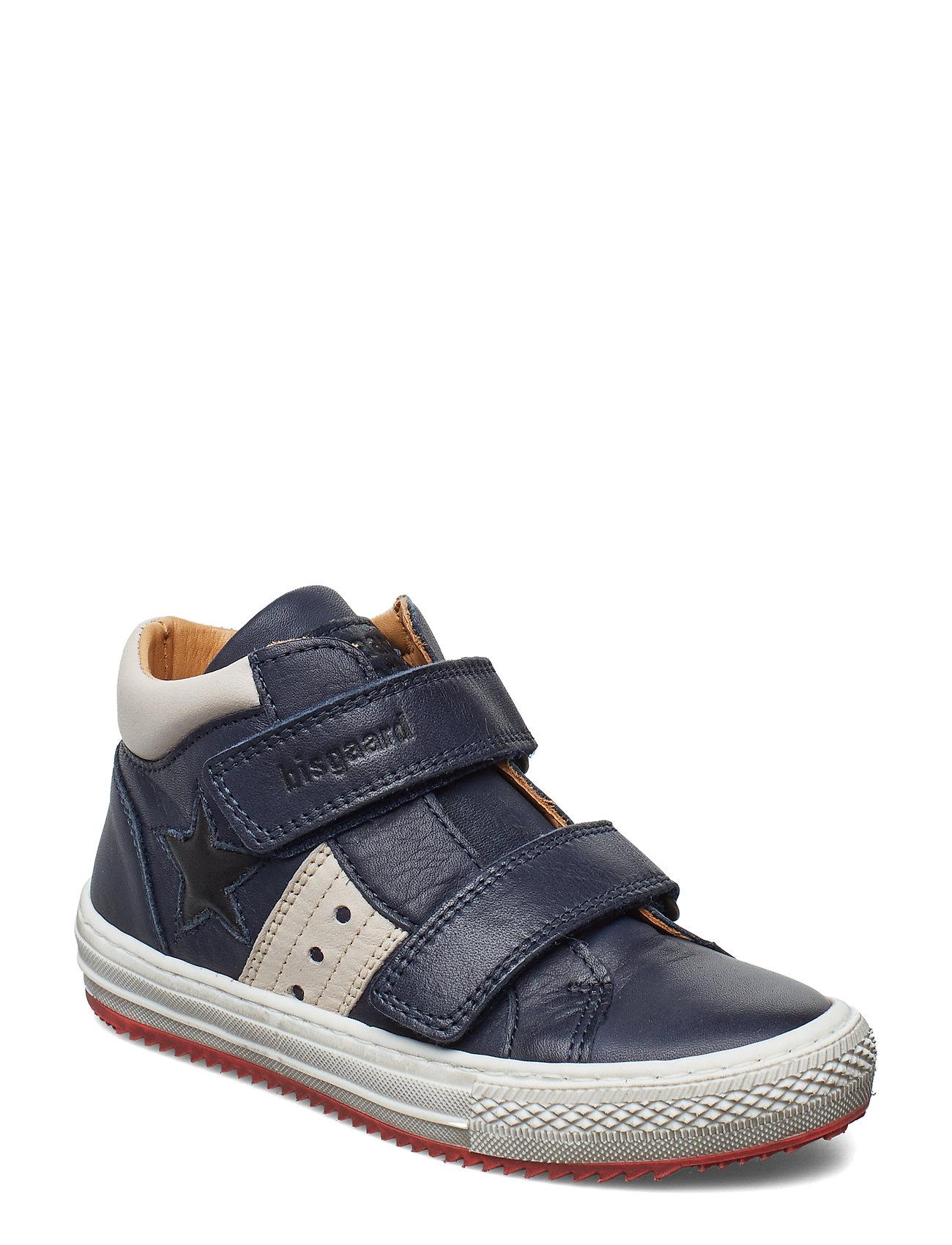 Bisgaard Velcro shoes - NAVY