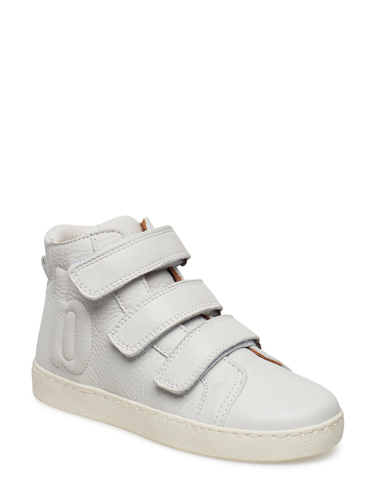 Bisgaard Velcro shoes - WHITE