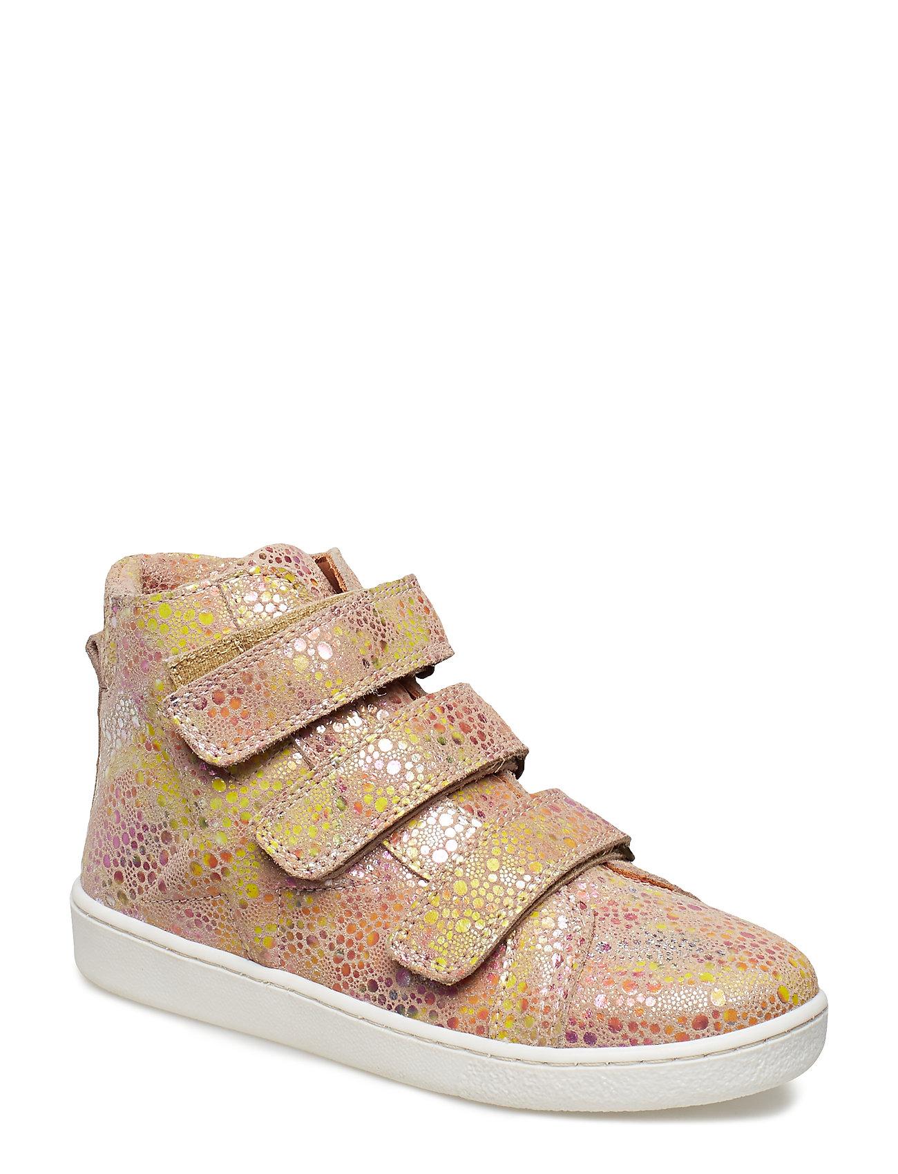 Bisgaard Velcro shoes - LEMON
