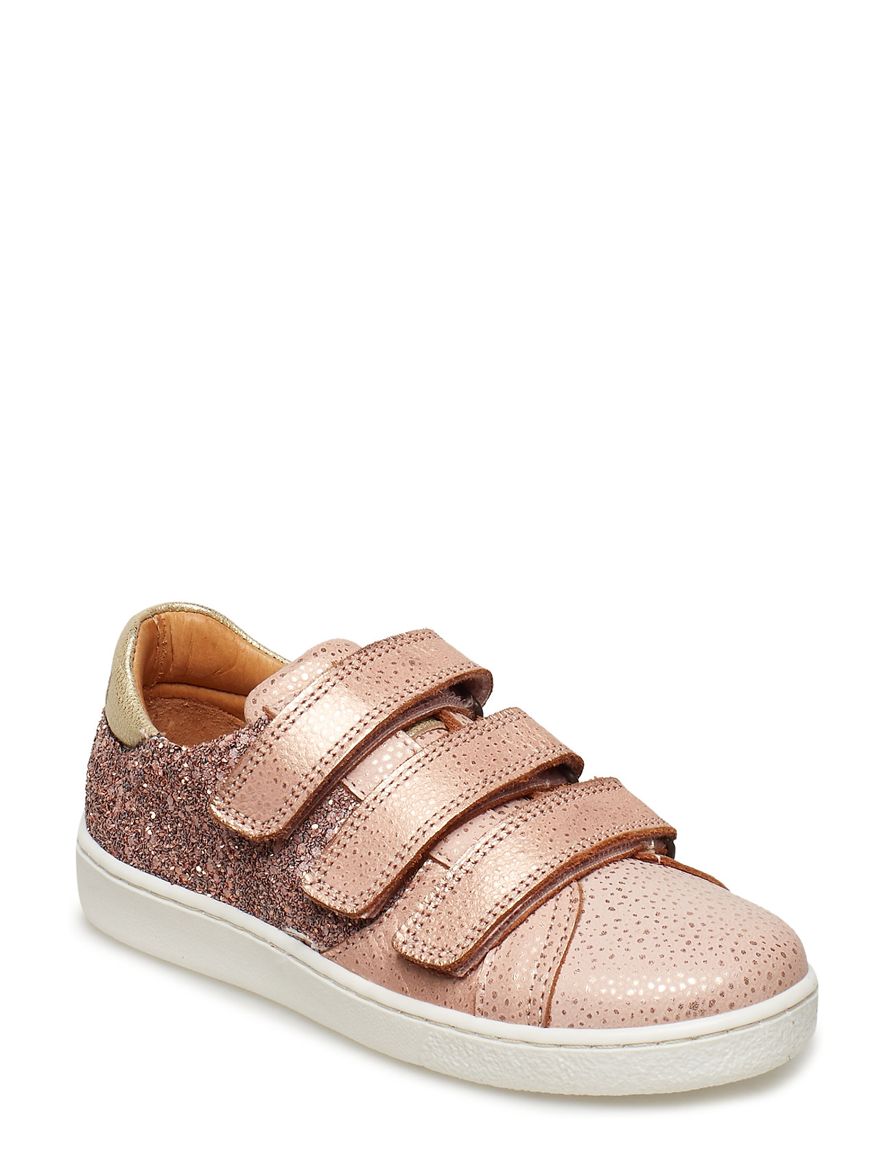 Bisgaard Velcro shoes - BLUSH