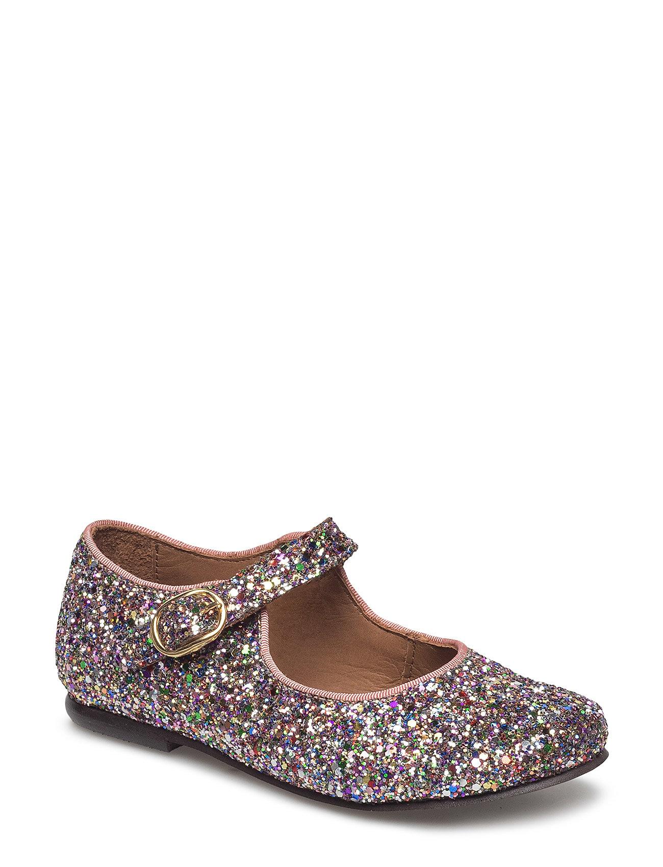 5f0694bf74c MULTI GLITTER Bisgaard Ballerina ballerina sko for børn - Pashion.dk