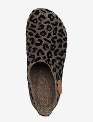 Bisgaard - bisgaard basic wool - hausschuhe - brown-leopard - 3