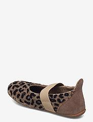 Bisgaard - bisgaard ballet wool - ballerinaer og slip-ons - brown-leopard - 2