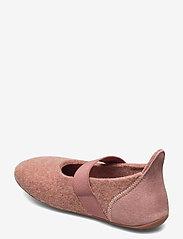 Bisgaard - bisgaard ballet wool - ballerinaer og slip-ons - rose - 2
