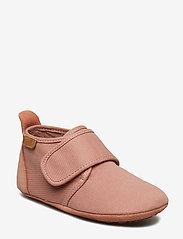 Bisgaard - Cotton Velcro - sko - nude - 0