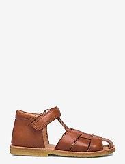 Bisgaard - bisgaard birke - sandalen met riempjes - cognac - 1