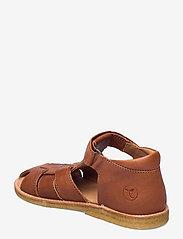 Bisgaard - bisgaard birke - sandalen met riempjes - cognac - 2