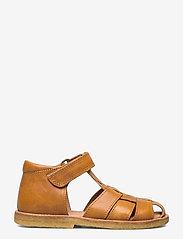 Bisgaard - bisgaard birke - sandalen met riempjes - mustard - 1