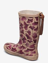 Bisgaard - bisgaard fashion - gummistøvler - bordeaux leaves - 2