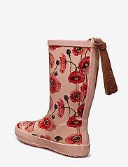 Bisgaard - bisgaard fashion - gummistiefel - nude flowers - 2