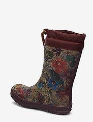 "Bisgaard - RUBBER BOOT - ""WINTER THERMO"" - gummistøvler - 174 flowers-bordeaux - 2"